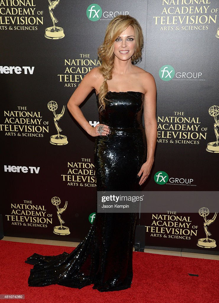 Actress Kelly Sullivan attends The 41st Annual Daytime Emmy Awards at The Beverly Hilton Hotel on June 22, 2014 in Beverly Hills, California.