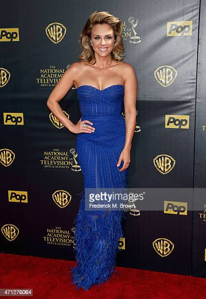 Actress Kelly Sullivan attends The 42nd Annual Daytime Emmy Awards at Warner Bros Studios on April 26 2015 in Burbank California
