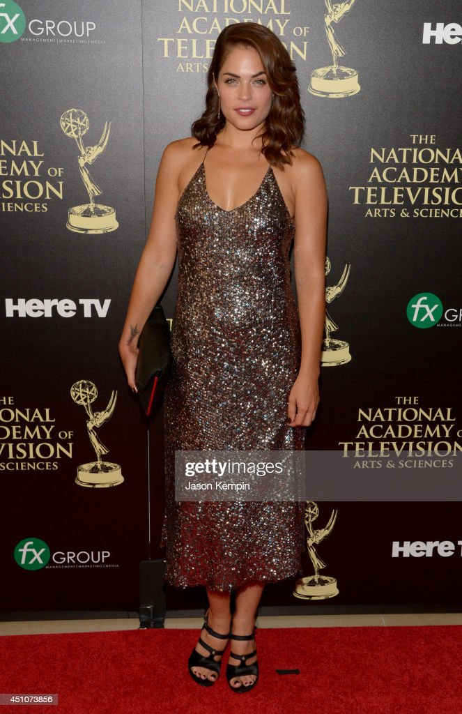 Actress Kelly Thiebaud attends The 41st Annual Daytime Emmy Awards at The Beverly Hilton Hotel on June 22, 2014 in Beverly Hills, California.