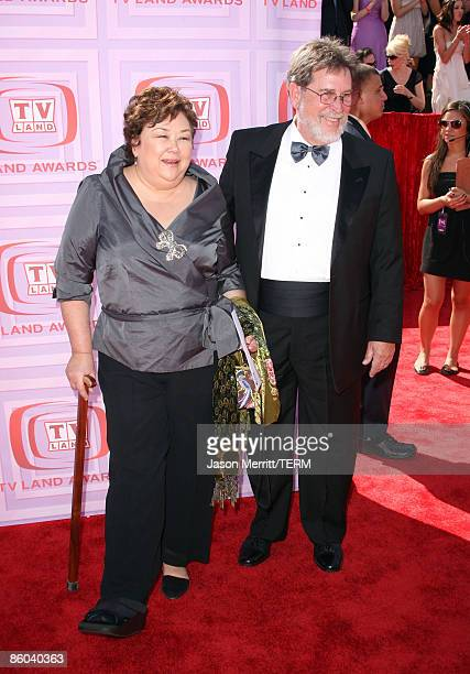 Actress Kellye Nakahara Wallet and guest arrive at the 7th Annual TV Land Awards held at Gibson Amphitheatre on April 19, 2009 in Universal City,...