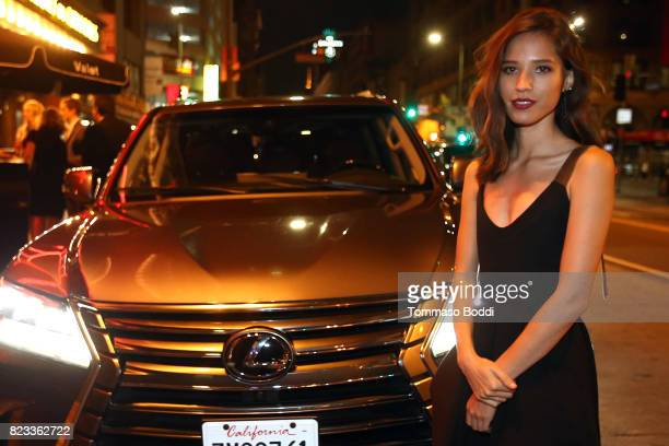 Actress Kelsey Asbille attends the after party for 'Wind River' Los Angeles Premiere presented in partnership with FIJI Water at Clifton's Cafeteria...