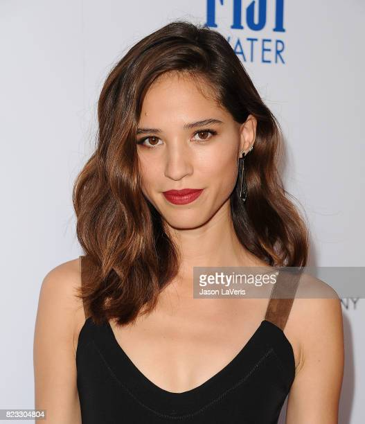 Actress Kelsey Asbille attends the premiere of 'Wind River' at The Theatre at Ace Hotel on July 26 2017 in Los Angeles California