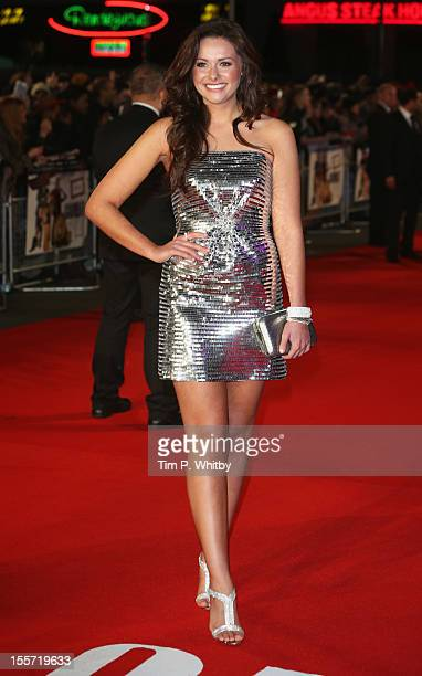 Actress Kelsey Beth Crossley attends the World Premiere of Gambit at Empire Leicester Square on November 7 2012 in London England