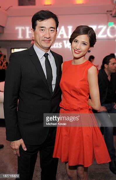 Actress Kelsey Chow and Jim Chow attend the 2011 Hollywood Style Awards sponsored by Smashbox The Palazzo Las Vegas and Palladium Jewelry held at...