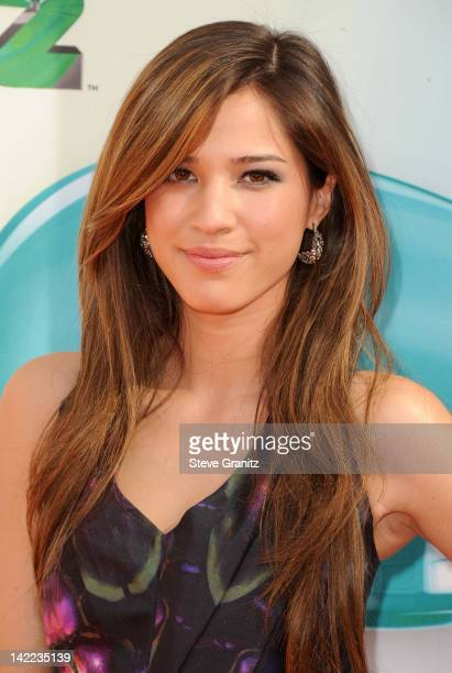 Actress Kelsey Chow arrives at Nickelodeon's 25th Annual Kids' Choice Awards held at Galen Center on March 31 2012 in Los Angeles California