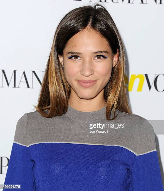 Actress Kelsey Chow arrives at Teen Vogue's 13th Annual Young Hollywood Issue Launch Party on October 2 2015 in Los Angeles California