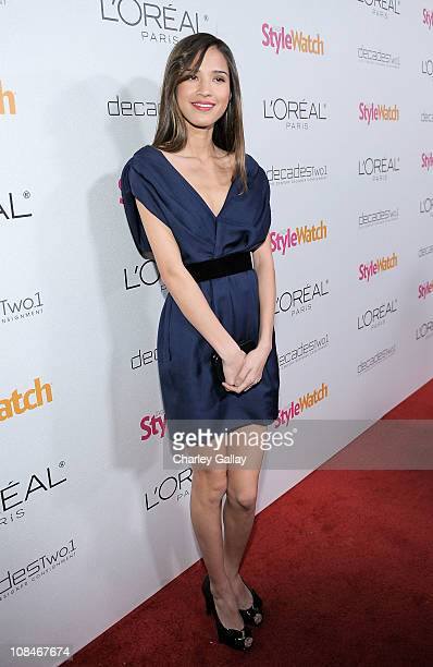 Actress Kelsey Chow arrives to 'A Night Of Red Carpet Style' hosted by People StyleWatch at Decades on January 27, 2011 in Los Angeles, California.