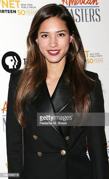 Actress Kelsey Chow attends the Premiere Of 'American Masters Inventing David Geffen' at The Writers Guild of America on November 13 2012 in Beverly...