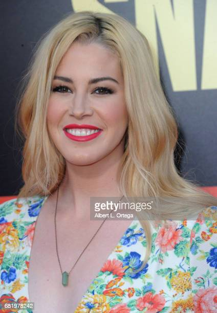 Actress Kelsey Darragh arrives for the Premiere Of 20th Century Fox's Snatched held at Regency Village Theatre on May 10 2017 in Westwood California