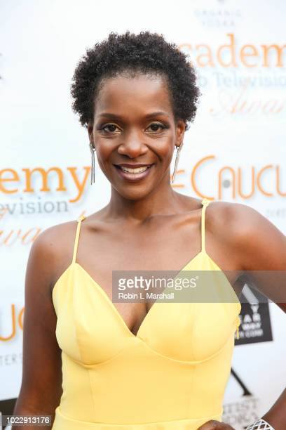 Actress Kelsey Scott attends the 6th International Academy of Web Television Awards at Skirball Cultural Center on August 24 2018 in Los Angeles...