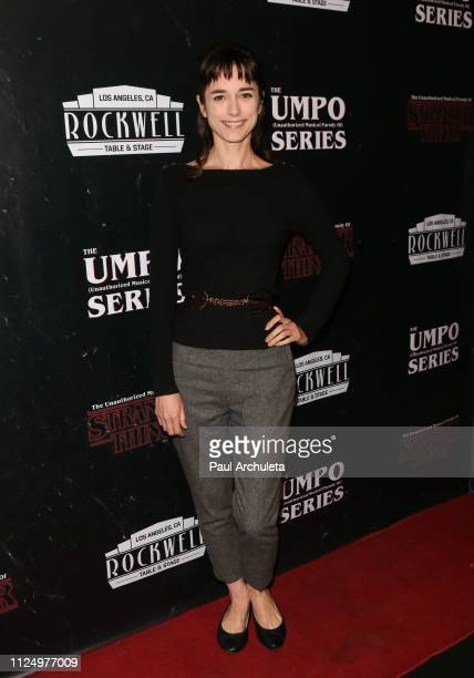 Actress Kendal Brenneman attends the unauthorized musical parody of Stranger Things press night at Rockwell Table and Stage on January 25 2019 in Los...