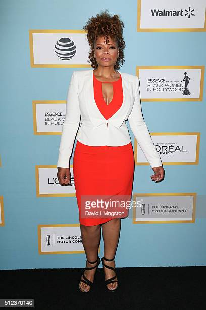 Actress Kendra C Johnson arrives at the Essence 9th Annual Black Women event in Hollywood at the Beverly Wilshire Four Seasons Hotel on February 25...