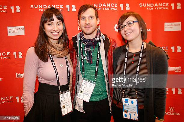 Actress Kendra Mylnechuk and filmmakers Peter O'Leary and Brooke Swaney attend Shorts Program II during the 2012 Sundance Film Festival at Yarrow...