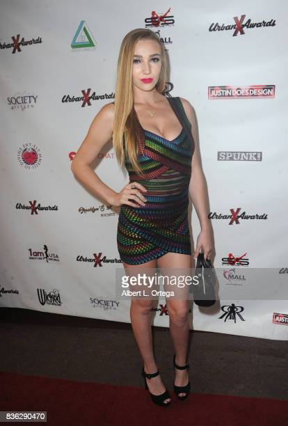 Actress Kendra Sunderland arrives for the 6th Urban X Awards held at Stars On Brand on August 20 2017 in Glendale California