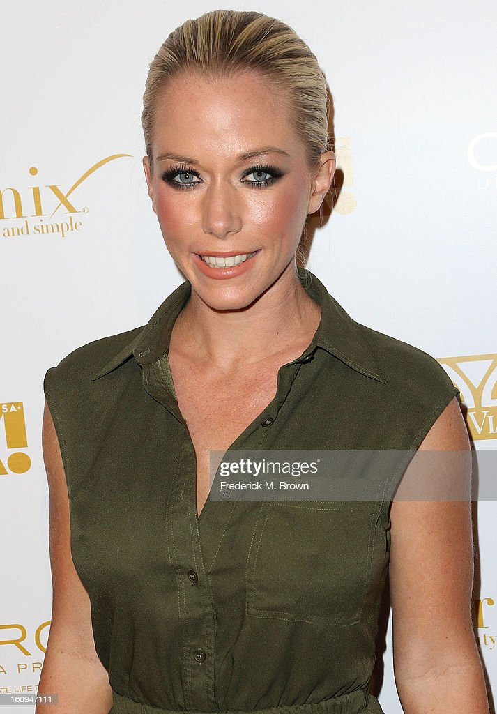Actress Kendra Wilkinson attends the Ok! Magazine Pre-GRAMMY Party at the Sound Nightclub on February 7, 2013 in Hollywood, California.