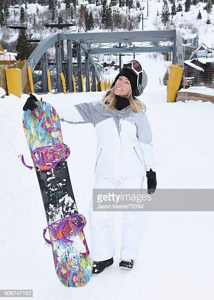 Actress Kendra Wilkinson is seen on January 25 2016 in Park City Utah
