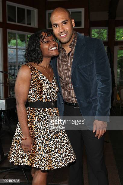 Actress Kenita Miller and Actor Josh Tower attend the Urban Stages' 26th Annual Benefit Celebrating The Harlem Renaissance Then and Now>> at Loeb...