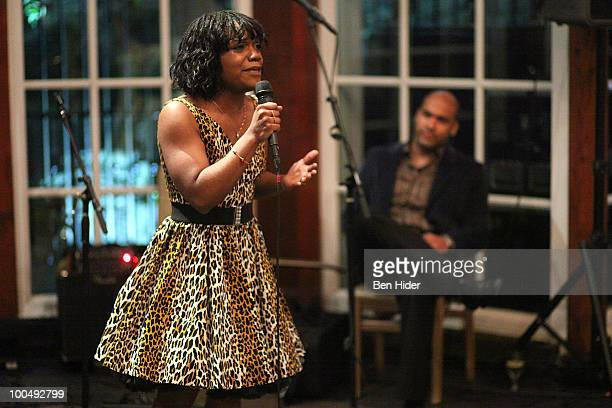 Actress Kenita Miller performs at the Urban Stages' 26th Annual Benefit Celebrating The Harlem Renaissance Then and Now>> at Loeb Central Park...