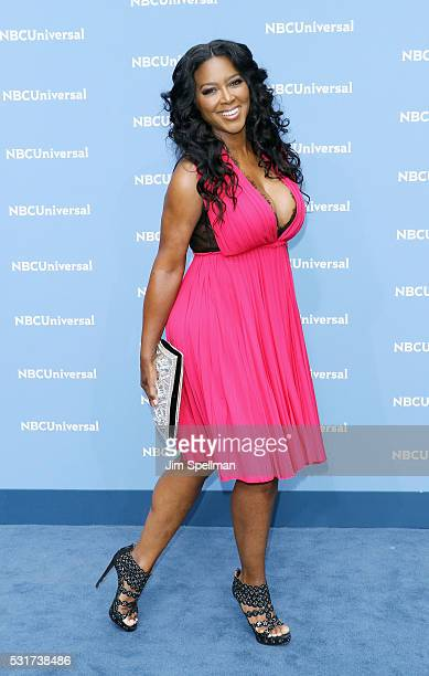 Actress Kenya Moore attends the 2016 NBCUNIVERSAL Upfront at Radio City Music Hall on May 16 2016 in New York City