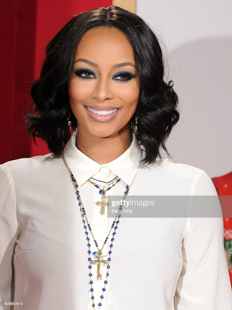 Actress Keri Hilson attends the premiere of Universal\'s \'Almost ...