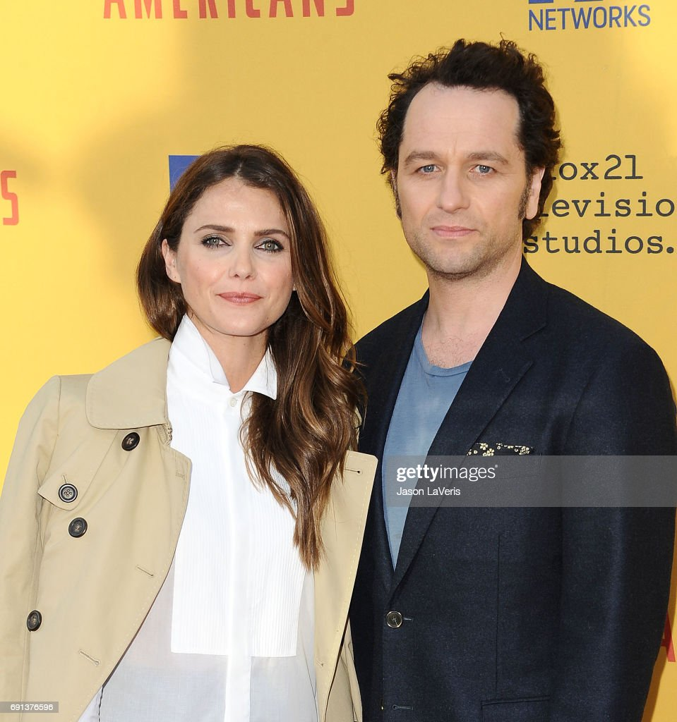 Actress Keri Russell and actor Matthew Rhys attend 'The Americans' For Your Consideration event at Saban Media Center on June 1, 2017 in North Hollywood, California.