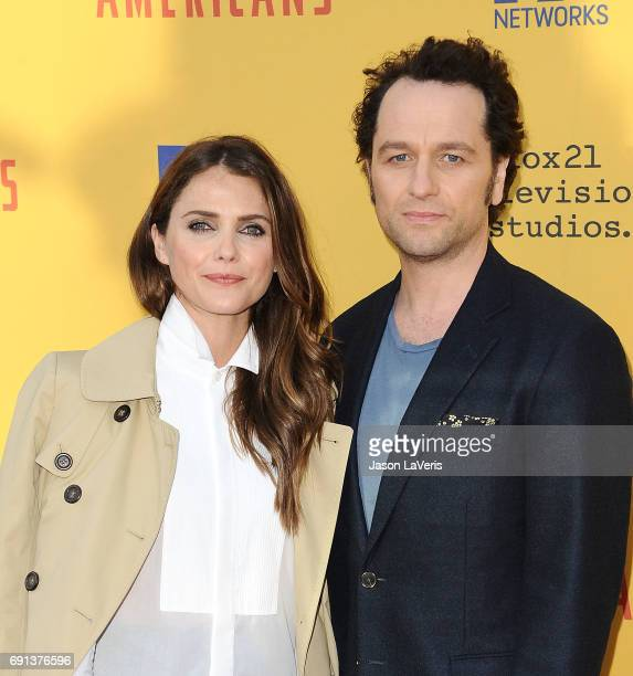 Actress Keri Russell and actor Matthew Rhys attend The Americans For Your Consideration event at Saban Media Center on June 1 2017 in North Hollywood...