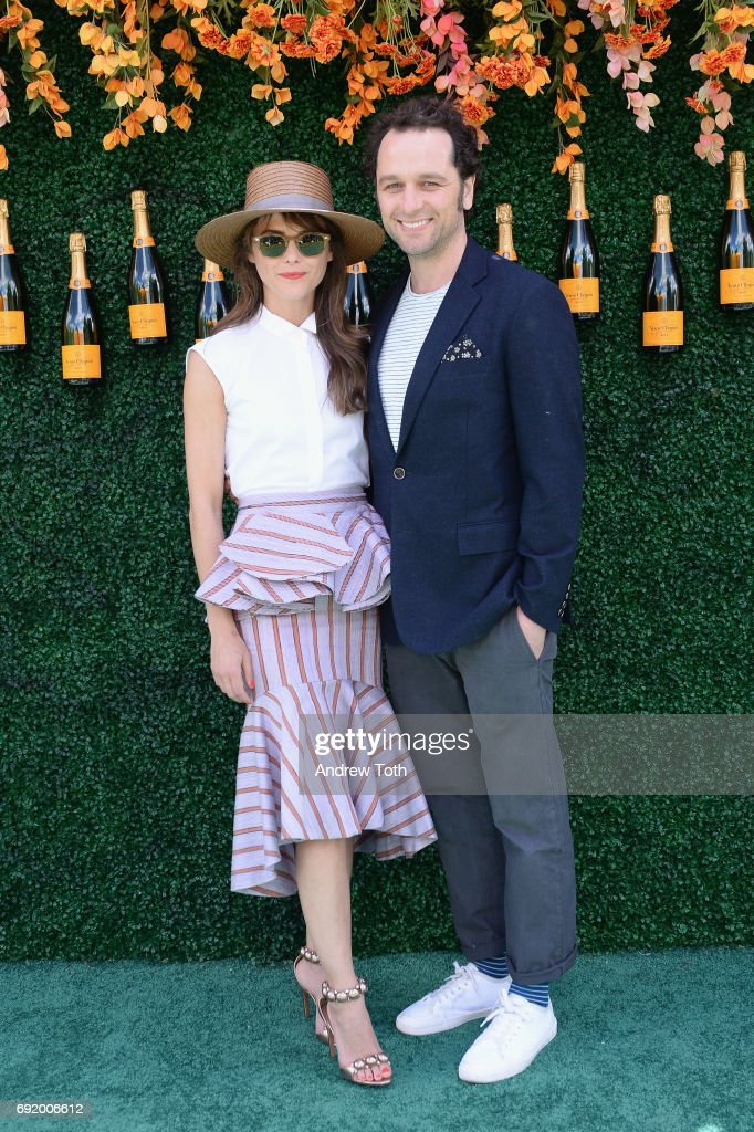 Actress Keri Russell and actor Matthew Rhys attend The Tenth Annual Veuve Clicquot Polo Classic at Liberty State Park on June 3, 2017 in Jersey City, New Jersey.