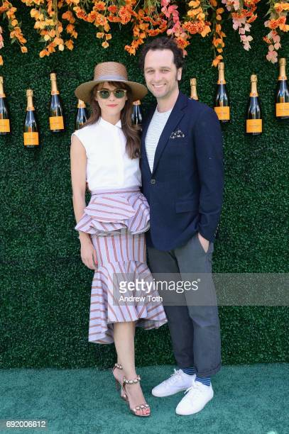 Actress Keri Russell and actor Matthew Rhys attend The Tenth Annual Veuve Clicquot Polo Classic at Liberty State Park on June 3 2017 in Jersey City...