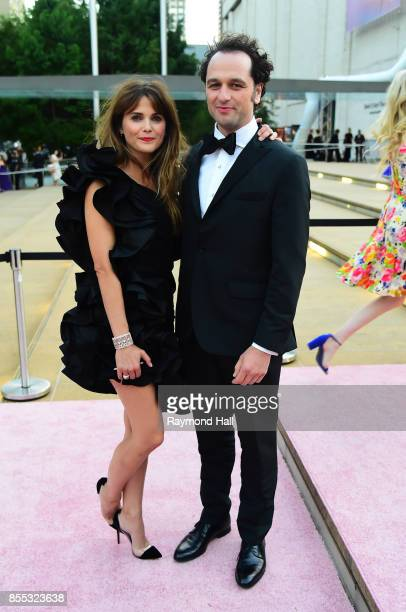 Actress Keri Russell and Matthew Rhys attends the New York City Ballet's 2017 Fall Fashion Gala at David H Koch Theater at Lincoln Center on...