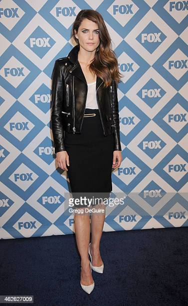 Actress Keri Russell arrives at the 2014 TCA winter press tour FOX allstar party at The Langham Huntington Hotel and Spa on January 13 2014 in...