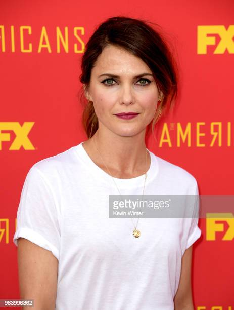 Actress Keri Russell arrives at the For Your Consideration red carpet event for FX's The Americans at the Saban Media Center on May 30 2018 in Los...