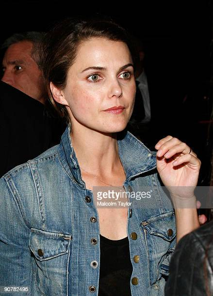 Actress Keri Russell arrives at the Leaves of Grass screening after party during the 2009 Toronto International Film Festival held at Cheval on...