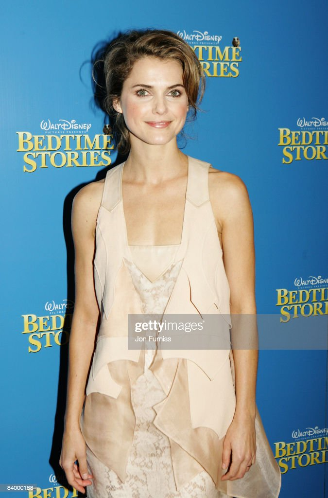 Actress Keri Russell arrives at the UK film premiere of 'Bedtime Stories' held at the Odeon Kensington on December 11, 2008 in London, England.