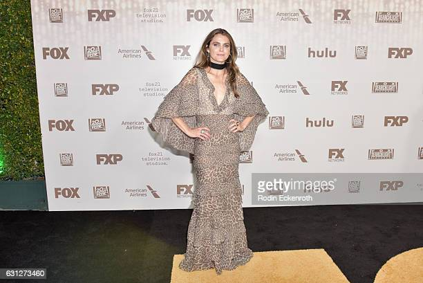 Actress Keri Russell attends FOX and FX's 2017 Golden Globe Awards after party at The Beverly Hilton Hotel on January 8 2017 in Beverly Hills...
