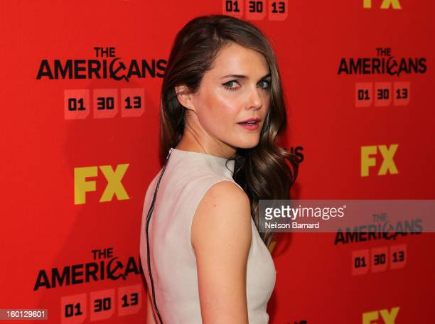 Actress Keri Russell attends FX's The Americans Season One New York Premiere at DGA Theater on January 26 2013 in New York New York
