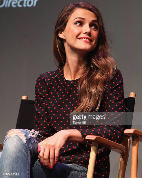 Actress Keri Russell attends Meet The Filmmakers Austenland at the Apple Store Soho on August 13 2013 in New York City