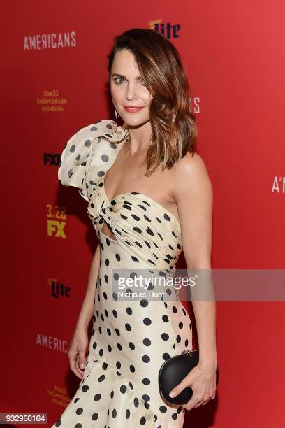 Actress Keri Russell attends Premiere of The Americans Season 6 at Alice Tully Hall Lincoln Center on March 16 2018 in New York City