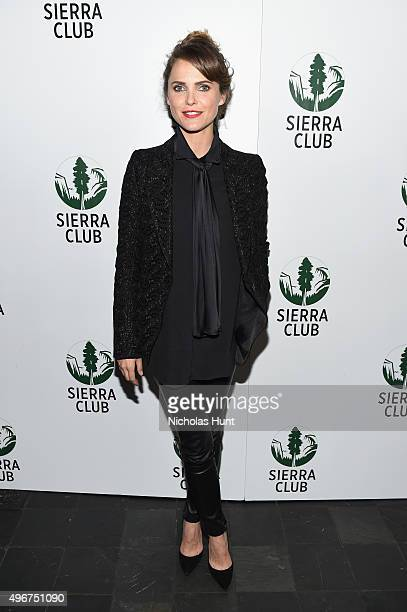 Actress Keri Russell attends Sierra Club's Act In Paris A Night of Comedy and Climate Action at The Heath at the McKittrick Hotel on November 11 2015...