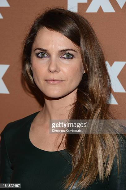 Actress Keri Russell attends the 2013 FX Upfront Bowling Event at Luxe at Lucky Strike Lanes on March 28 2013 in New York City