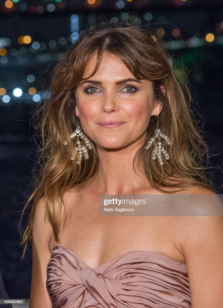 Actress Keri Russell attends the 2017 Brooklyn Bridge Park Conservancy Brooklyn Black Tie Ball at Pier 2 at Brooklyn Bridge Park on October 5, 2017 in the Brooklyn borough of New York City, New York.