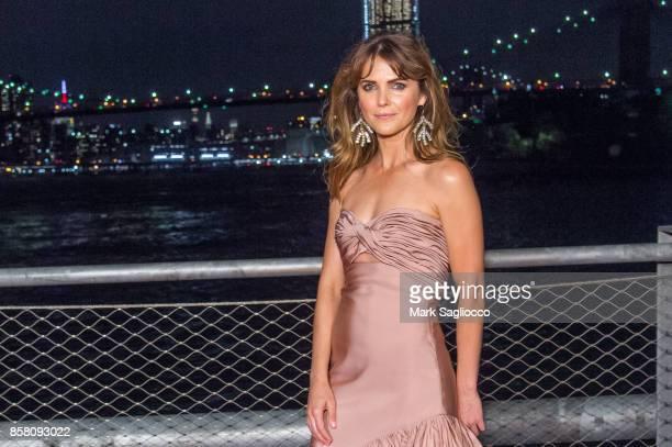 Actress Keri Russell attends the 2017 Brooklyn Bridge Park Conservancy Brooklyn Black Tie Ball at Pier 2 at Brooklyn Bridge Park on October 5 2017 in...