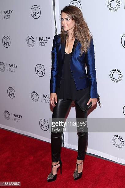 Actress Keri Russell attends The Americans panel during 2013 PaleyFest Made In New York at The Paley Center for Media on October 4 2013 in New York...