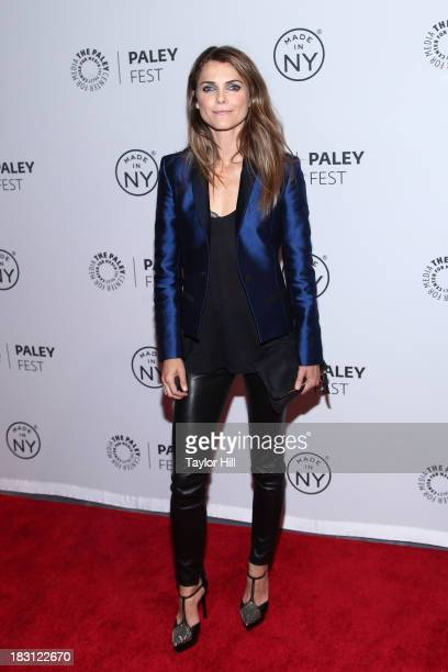 Actress Keri Russell attends 'The Americans' panel during 2013 PaleyFest Made In New York at The Paley Center for Media on October 4 2013 in New York...