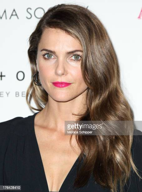 Actress Keri Russell attends The Cinema Society with Alice and Olivia screening of Sony Pictures Classics' 'Austenland' at Landmark Sunshine Cinema...