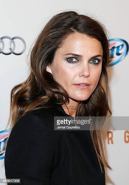 Actress Keri Russell attends the FX Networks Upfront screening of Fargo at SVA Theater on April 9 2014 in New York City
