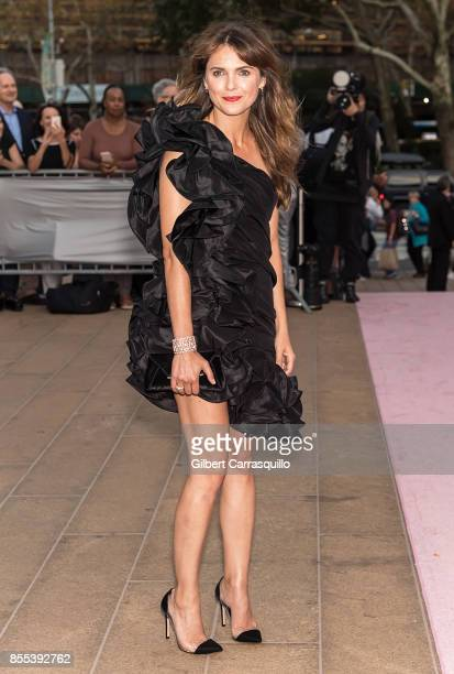 Actress Keri Russell attends the New York City Ballet's 2017 Fall Fashion Gala at David H Koch Theater at Lincoln Center on September 28 2017 in New...