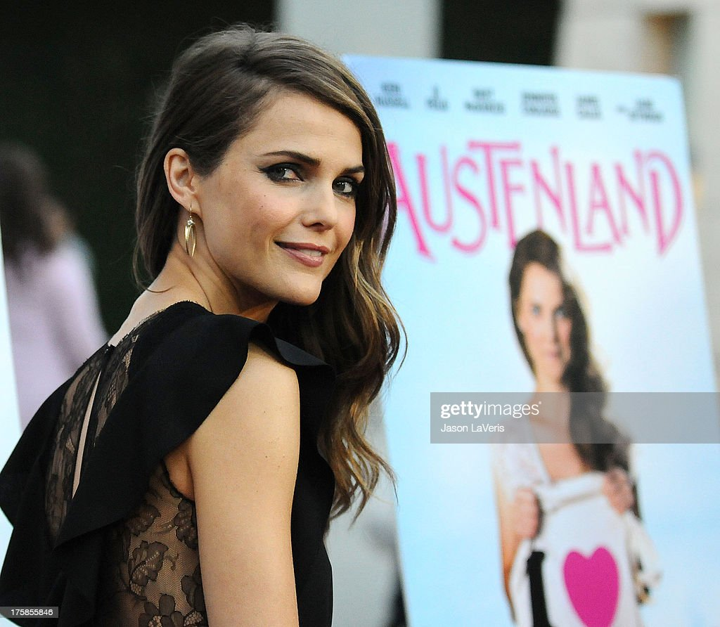 Actress Keri Russell attends the premiere of 'Austenland' at ArcLight Hollywood on August 8, 2013 in Hollywood, California.