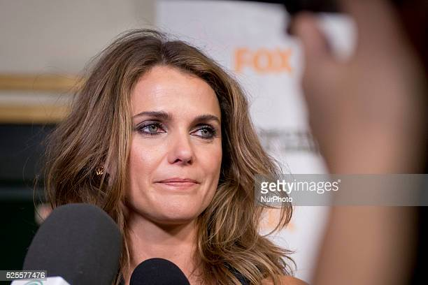 Actress Keri Russell attends the quotDawn of the Planet of the Apesquot premiere at the Capitol cinema on July 16 2014 in Madrid Spain