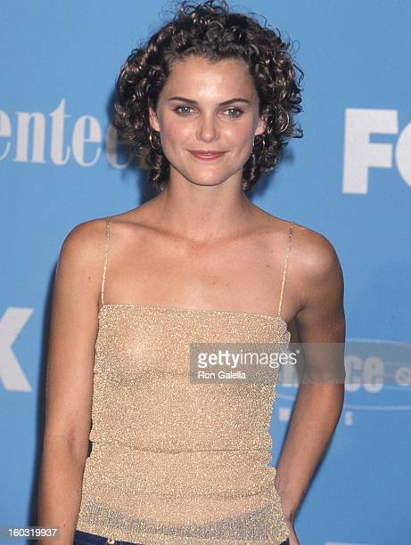 Actress Keri Russell attends the Second Annual Teen Choice Awards on August 6 2000 at the Barker Hangar Santa Monica Air Center in Santa Monica...