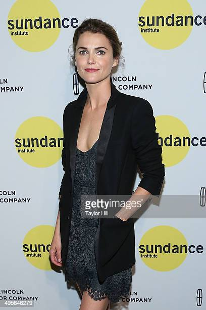 Actress Keri Russell attends the Sundance Institute Vanguard Leadership Award honoring Glenn Close at Stage 37 on June 4 2014 in New York City